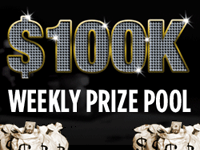 Weekly $100K Guaranteed