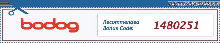 Bodog Poker Bonus Code 2016
