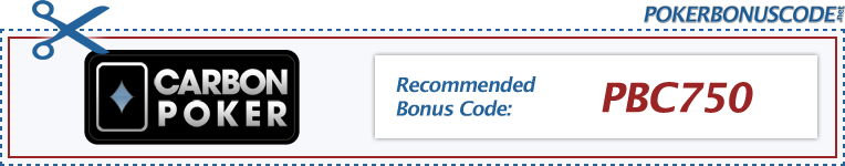 Carbon Poker Bonus Code 2018