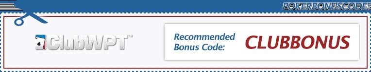 Club WPT Bonus Code 2018