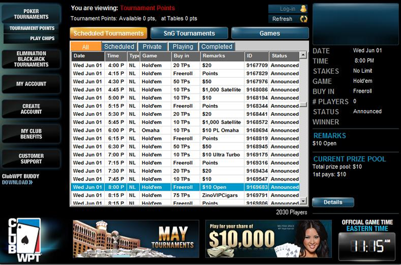 Club WPT Review | Comprehensive Info about clubwpt com