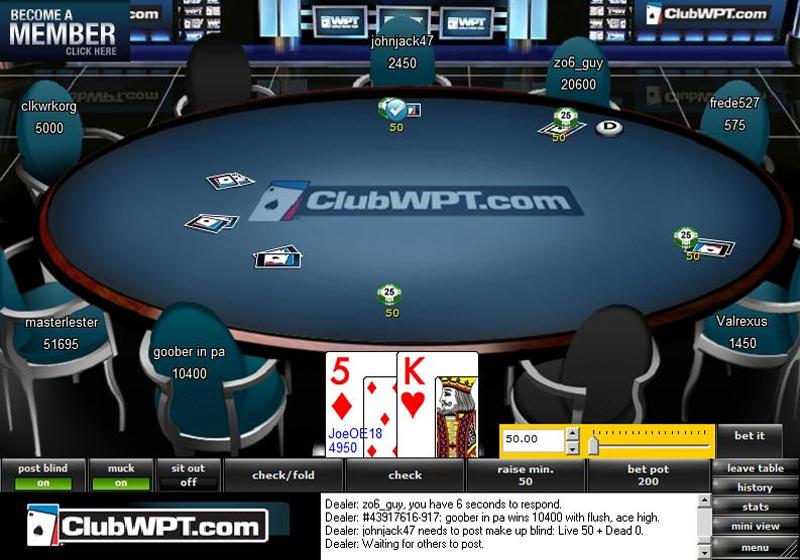 Wpt poker tournaments 2018