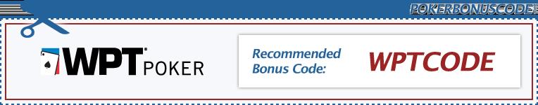 WPT Poker Bonus Code 2018