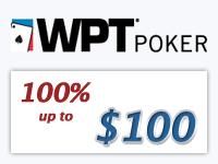 WPT Poker Signup Bonus
